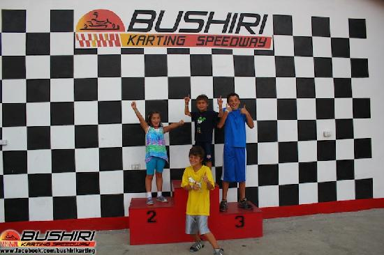 Bushiri Karting Speedway: The winners !!