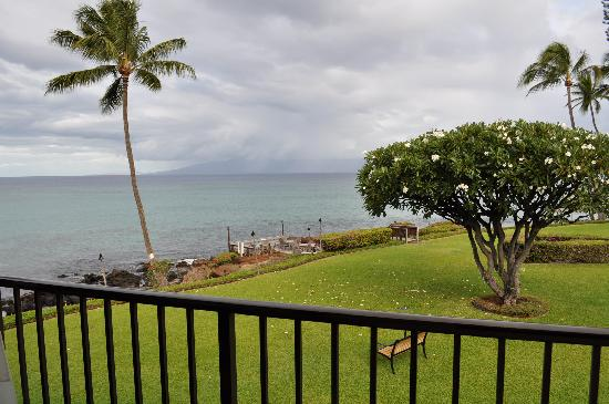 Polynesian Shores Condominiums: Part of the view from our deck
