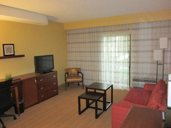 Courtyard Dallas Medical/Market Center: Living room