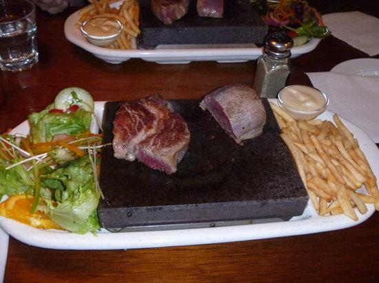 Saints Cafe, Restaurant & Bar: Try both cuts