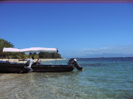 Cayos Cochinos : unser Boot