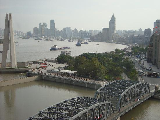 Broadway Mansions Hotel : The Bund from Broadway Mansions