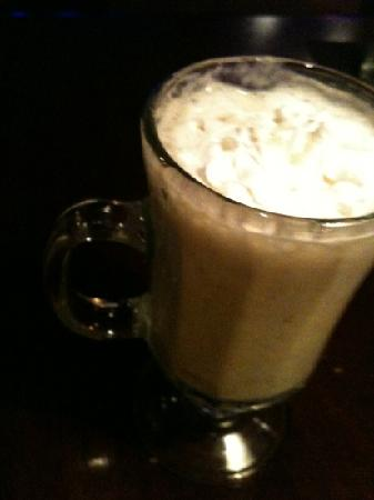 Bumpers Grill & Bar: Spiced Eggnog