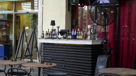 Outdoor Bar Stand At Cerveseria