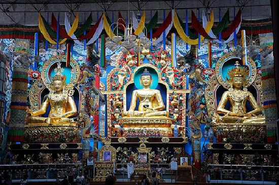 The Windflower Resort and Spa, Coorg: The tibetan buddhist temple