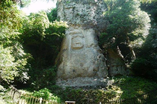 Bungotakada, Japonya: 長い石段を登って行きます