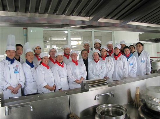 Cooking School In China - group picture