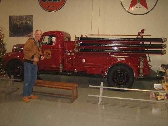 Antique Automobile Club of America Museum: fire truck
