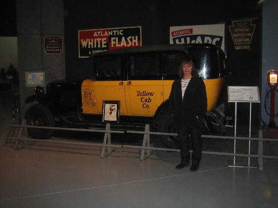 Antique Automobile Club of America Museum: ernie's taxi wonderful life