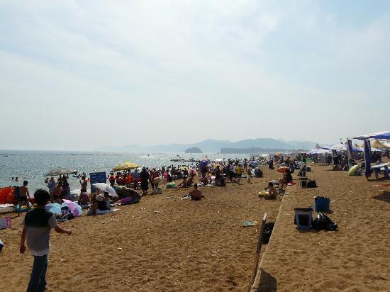 Jinshitan Scenic Area: 2011.8.21 海浜浴場