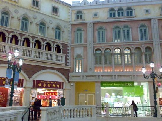 The Grand Canal Shoppes: Another section of the Venetian Macau