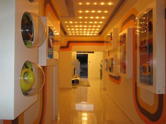 Villa Zest Boutique Hotel: la hall