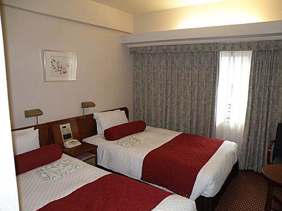 Hearton Hotel Kyoto: Twin Room Interior