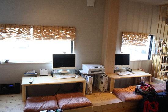 Guest House Nara Komachi: Ordinateurs à disposition