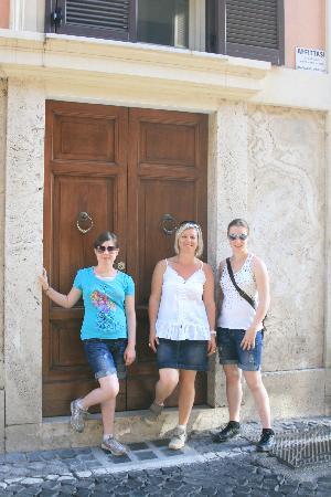 Rome Quiet Home: Porte d'entrée
