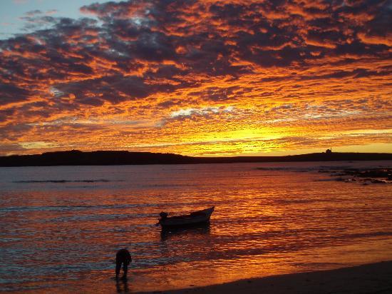tramonto dal Wakan Bar