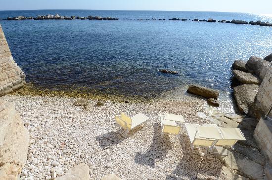 Resort Bufi Private Beach: La spaggia privata