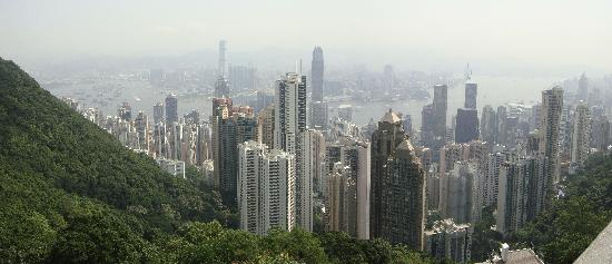 Hotel ICON: View from Victoria Peak