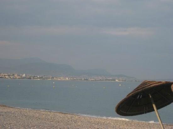 Résidence Goélia Royal Cap: la vue et la plage en fin de journée