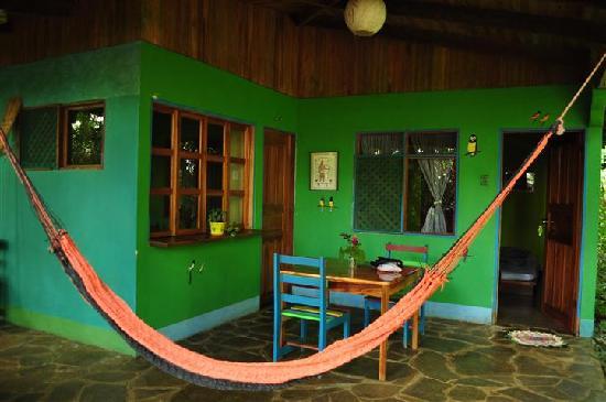 Posada Andrea Cristina: Entrance to the cabin