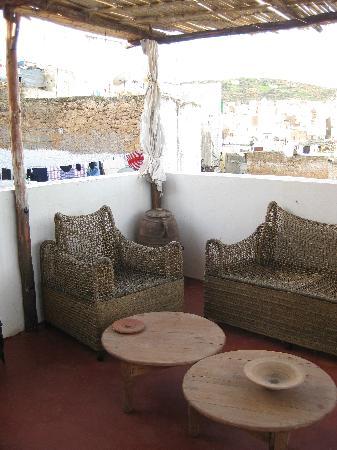 Dar KamalChaoui: Dachterrasse
