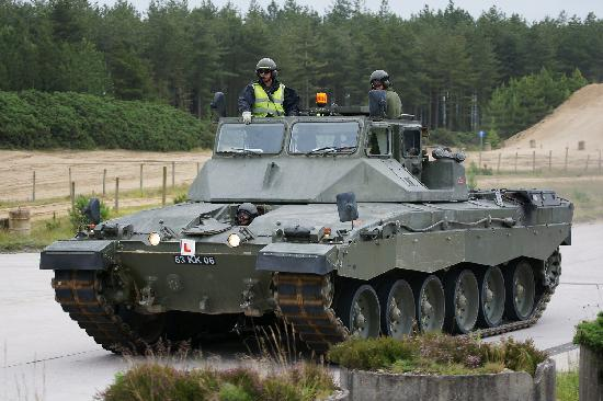 ceac56501dc950 Challenger Training Tank on the ranges - Picture of The Tank Museum ...