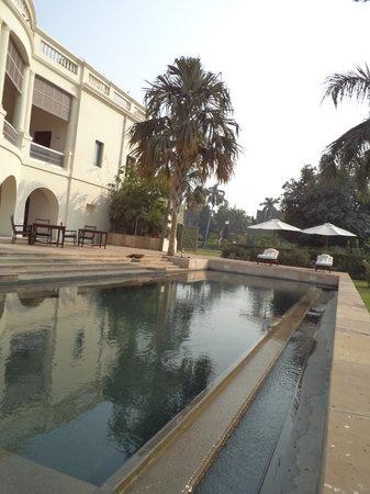 Nadesar Palace Varanasi : The lovely pool