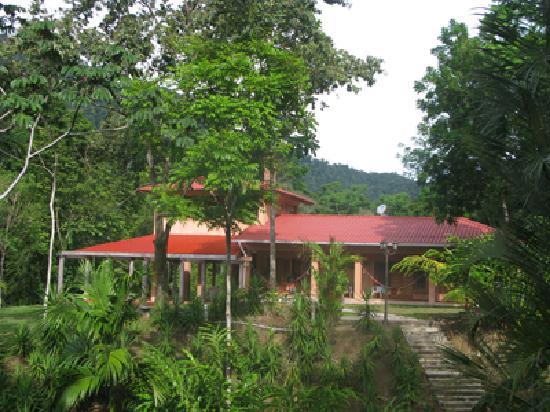 La Villa de Soledad B&B: Our building from our gardens