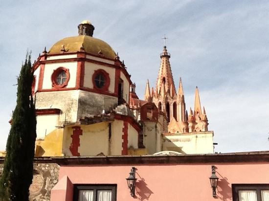 Casa Rosada Hotel: The amazing views from the master suite rooftop terrace.