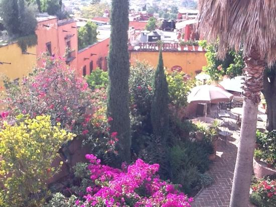 Casa Rosada Hotel: The city views are outstanding.