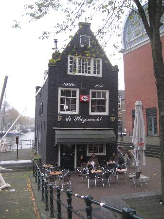 Amsterdam, The Netherlands: old restaurant
