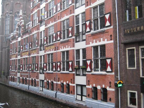 Amsterdam, The Netherlands: old wearhouses