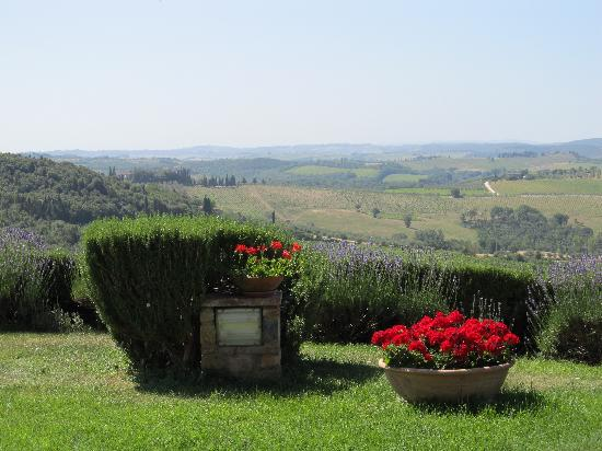 Castellina In Chianti, Italia: View from farm
