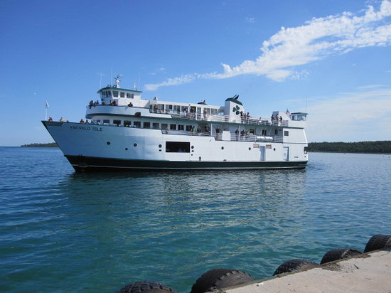 Long Ferry Ride Wonderful Beach Review Of Beaver Island