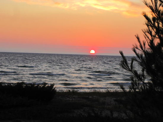 You'll want to see the sunrise on Beaver Island!