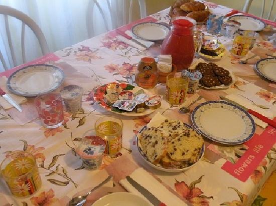 B&B I Girasoli : la colazione