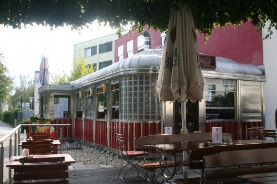 diner exterior picture of american diner durlach karlsruhe tripadvisor. Black Bedroom Furniture Sets. Home Design Ideas