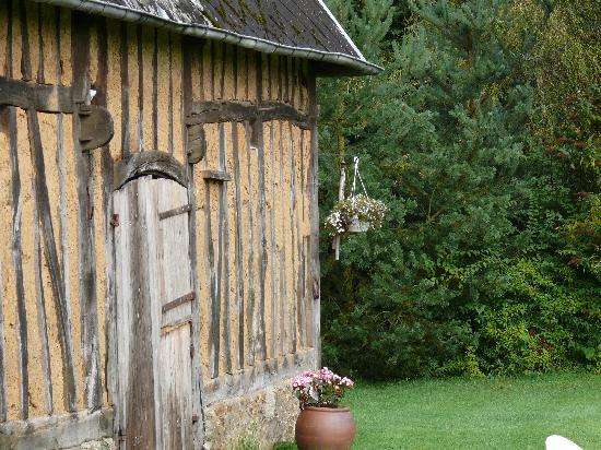 La Bichonniere: scorcio del giardino