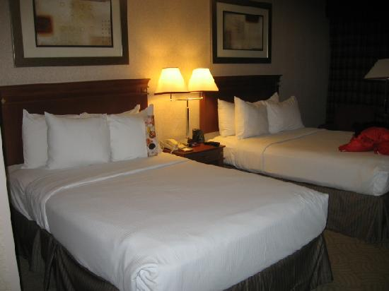 Hilton Washington DC North Gaithersburg: the twin beds
