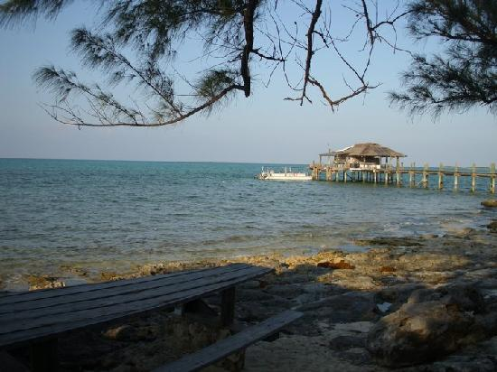 The Dive Dock at Small Hope Bay Lodge