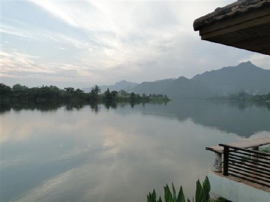 Kasem Island Resort: KASEM - Lage am RiverKwai.....