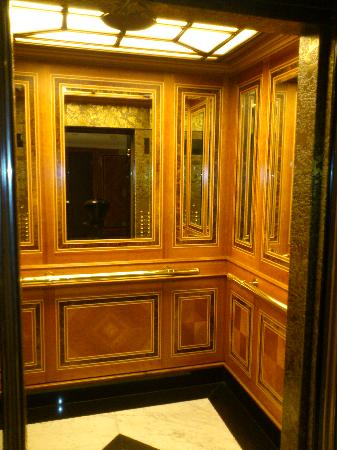 The Hotel   Brussels: Imressive Elevator Interior