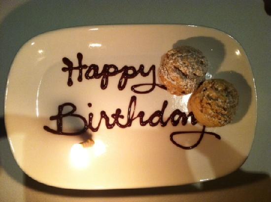 Rialto: Happy Birthday plate