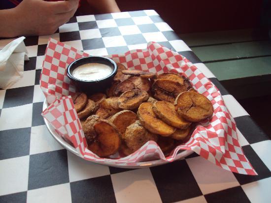 Piggyback Barbeque: Buffalo Chips...
