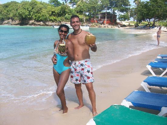 Plaza Lusitania: Playa Rincon. 2ª Mejor del mundo
