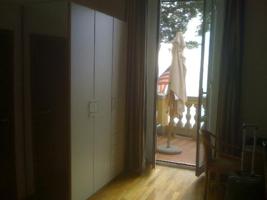 Hotel Casmona: Room 301, looking out to the terrace
