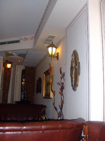 Hotel Boris Palace: Lobby area..