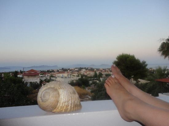 7 Islands Hotel : Double sea view room