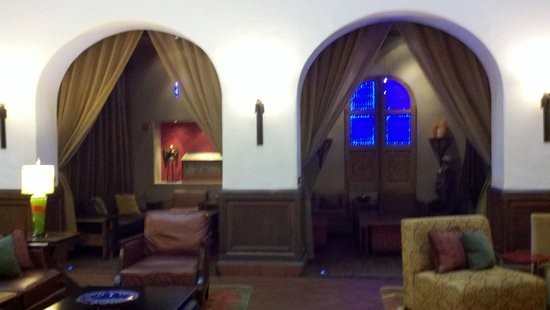 Hotel Andaluz : Private rooms in the lobby to enjoy drinks
