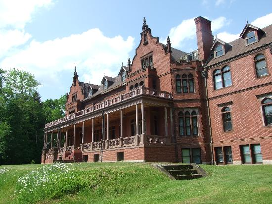 """Ventfort Hall Mansion and Gilded Age Museum: Remember this building from the movie """"Cider House Rules""""?"""